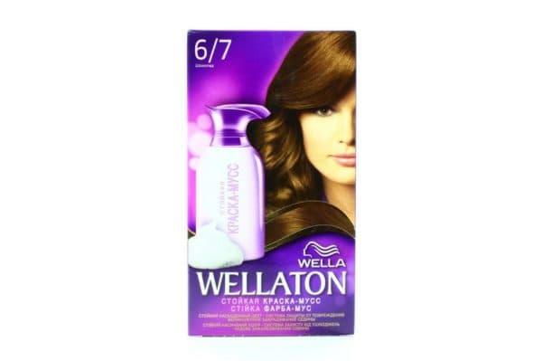 Стойкая краска для волос Wellaton от Wella