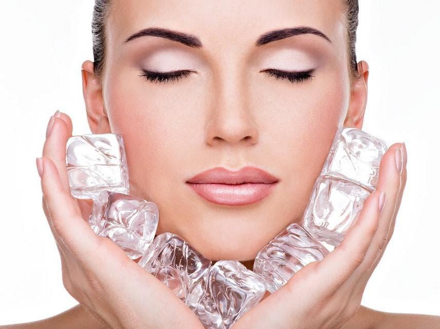 Умывание кубиками льда польза и вред