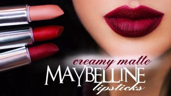 Creamy Matte Maybelline губная помада