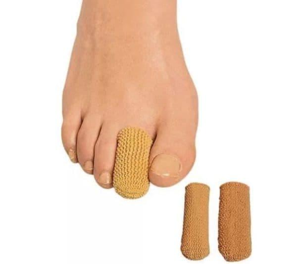 Колпачок TEMIS гелево-тканевый защитный ртопедический для пальцев ног
