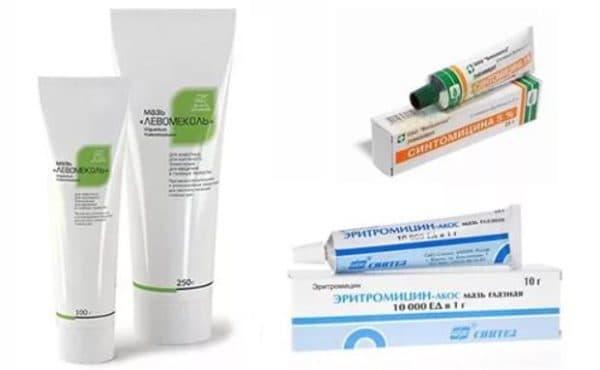 Препараты для лечения трещин в уголках рта