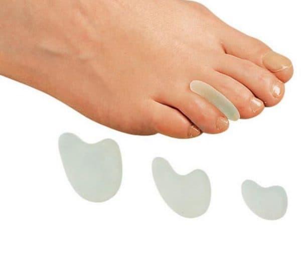 Разделитель MOLLI плоский гелевый для пальцев ног
