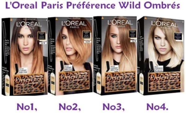 Краска для волос PRÉFÉRENCE OMBRÉS