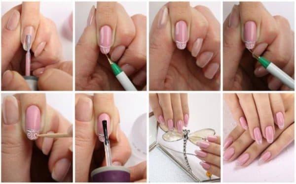 Пошаговая инструкция нанесения гель лака на ногти
