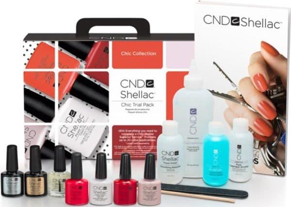 CND Shellac набор для покрытия ногтей шеллаком
