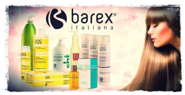 Barex шампунь для наращенных волос