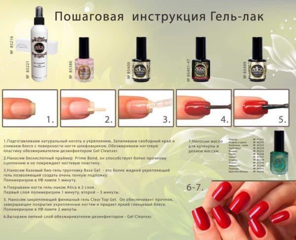 Пошаговая инструкция для покрытия ногтей гель лаком