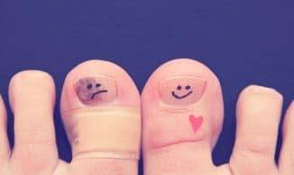 Причины и лечение утолщение ногтей на ногах