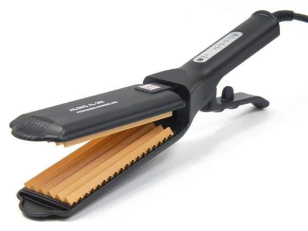 Утюжок гофре для волос