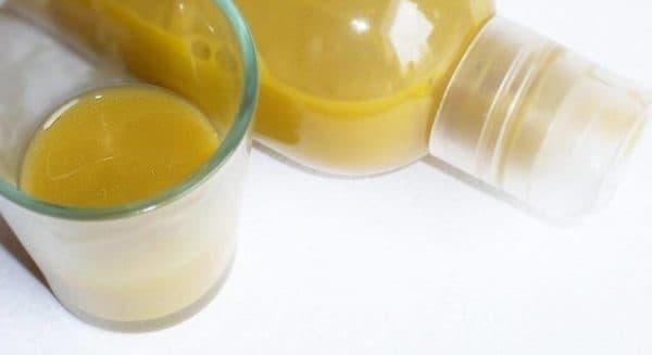 Домашний шампунь для жирных волос с горчицей
