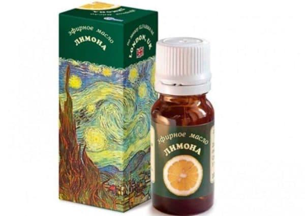 Эфирное масло лимона London.UK