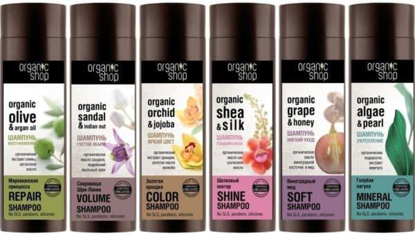 Шампунь для наращенных волос Organic Shop