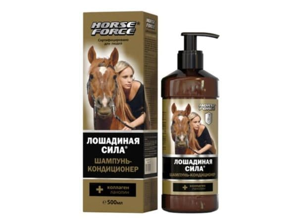 Шампунь-кондиционер для волос Лошадиная сила