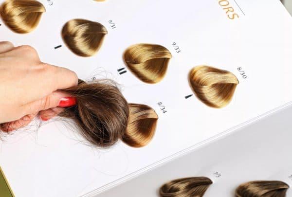 Оттенок краски Kydra На реальных волосах
