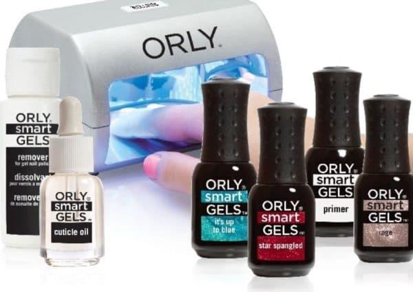 гель лаки для ногтей Orly Smart Gels