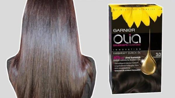 Оттенок 3.0 краски для волос Олия Гарньер