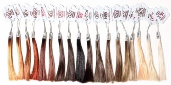 Палитра оттенков краски для волос Олия Гарньер