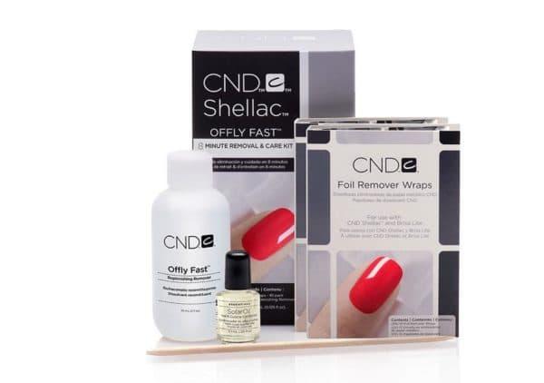 CND набор для маникюра с шеллаком